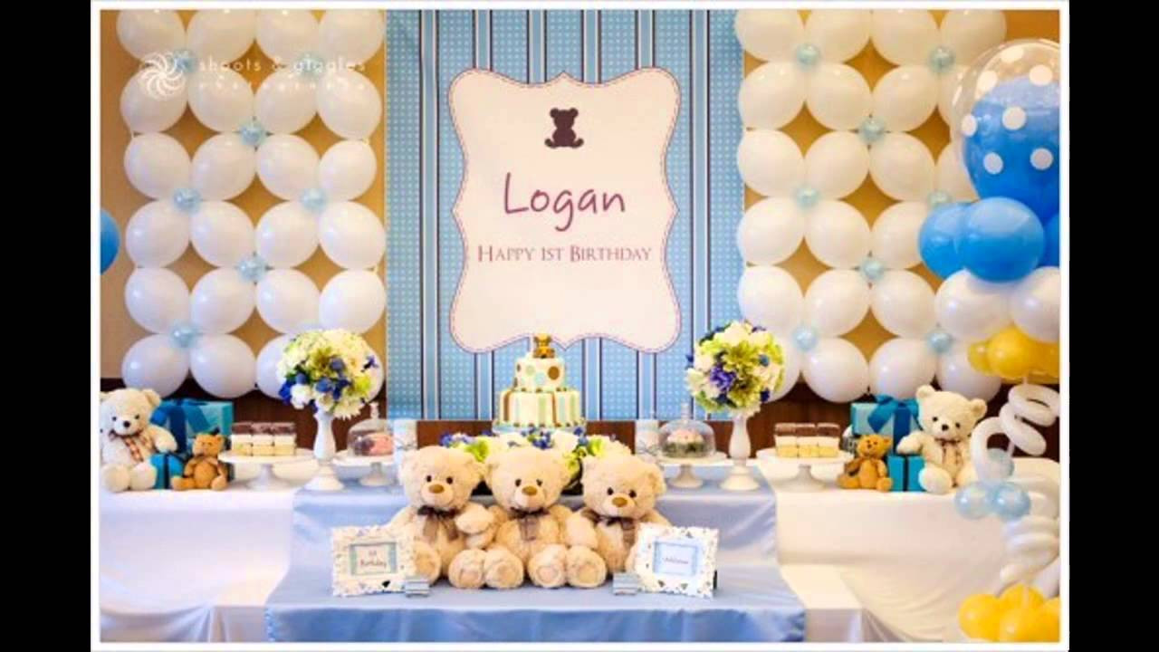 1st Birthday Decor  1st birthday party themes decorations at home for boys