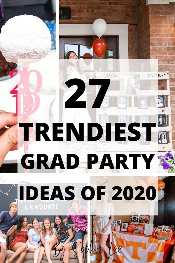 2020 Graduation Party Ideas  The 27 BEST 2020 High School Graduation Party Ideas With