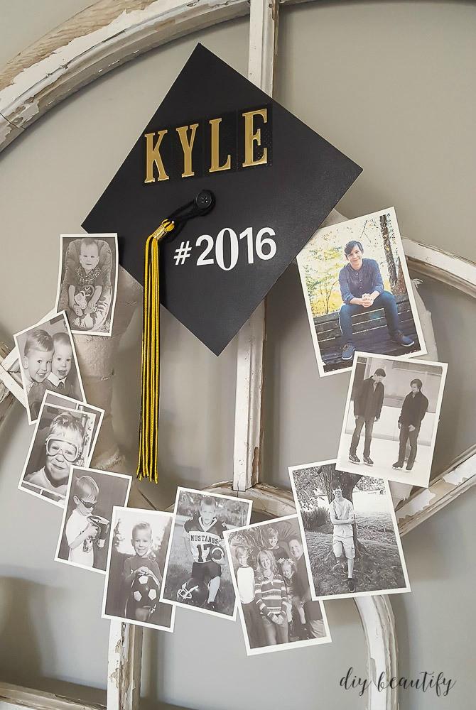 2020 Graduation Party Ideas  Graduation Memory Wreath