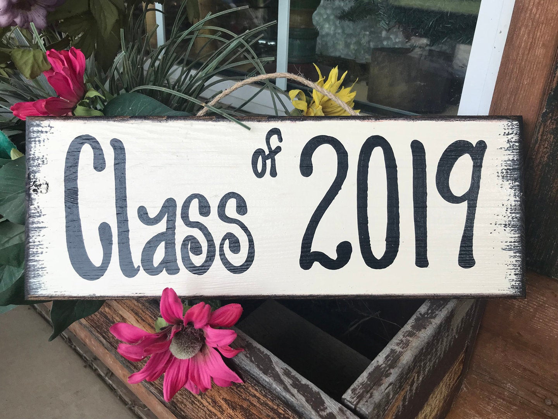 2020 Graduation Party Ideas  GRADUATION Party SIGN Class of 2019 2020 Grad Senior