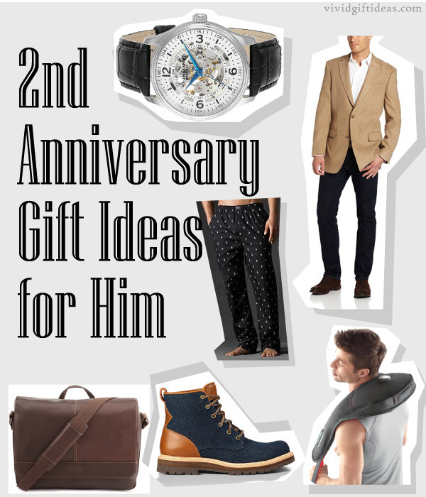 2Nd Anniversary Gift Ideas For Him  2nd Anniversary Gifts For Husband Vivid s