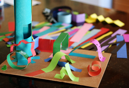 3D Art Projects For Kids  Creating 3 D Paper Sculptures With Kids
