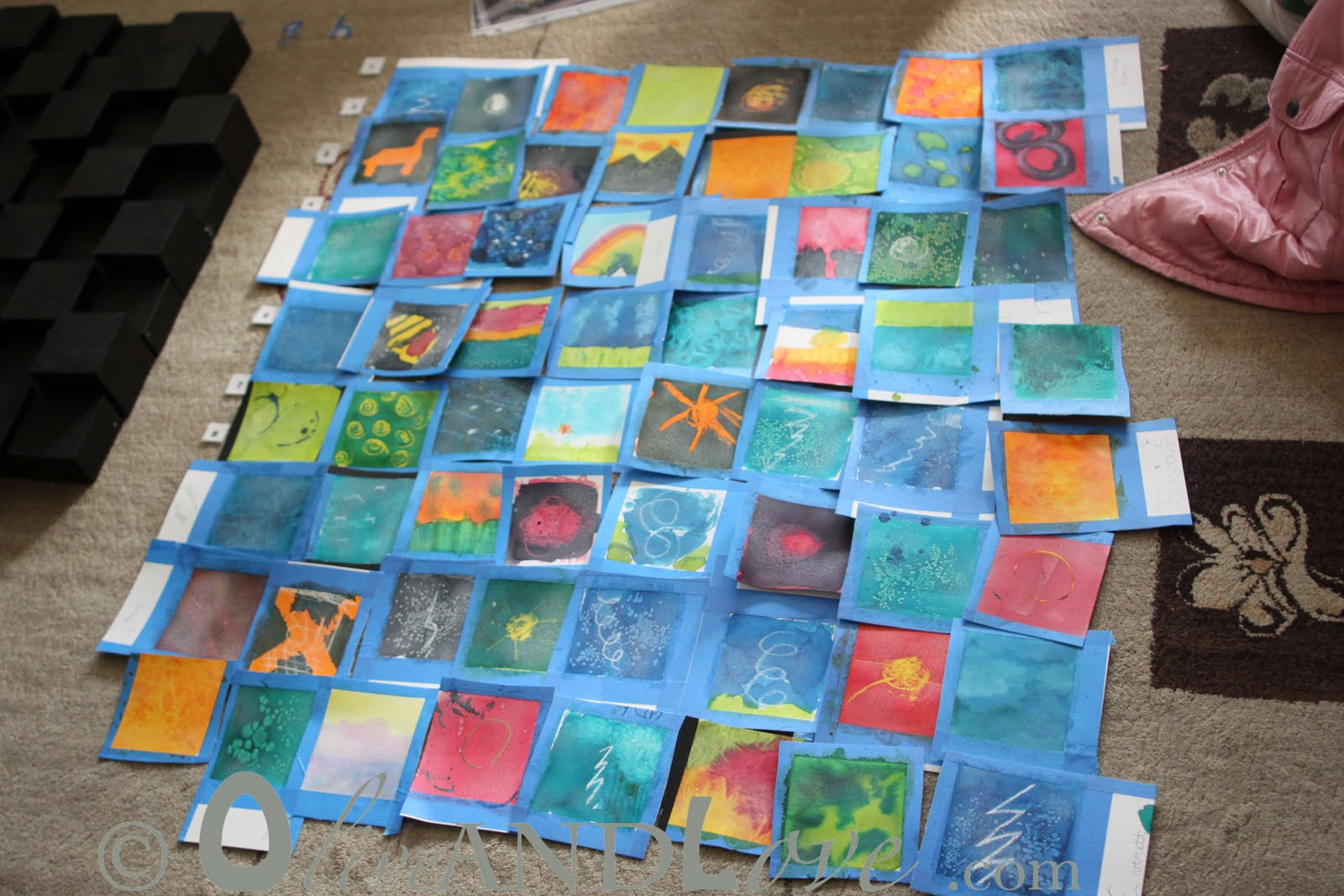 3D Art Projects For Kids  3D wooden blocks – Children's Auction Art Project