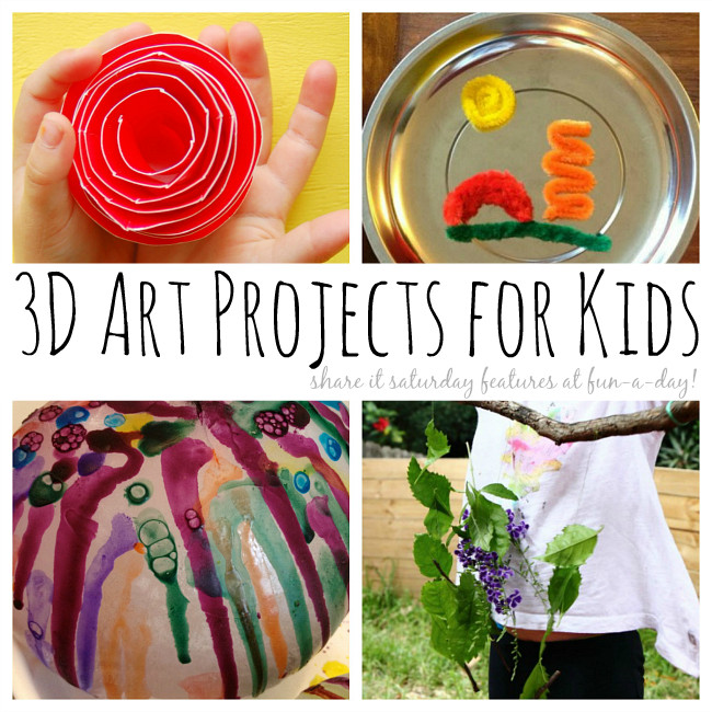 3D Art Projects For Kids  3D Art Projects for Kids that Inspire Creativity