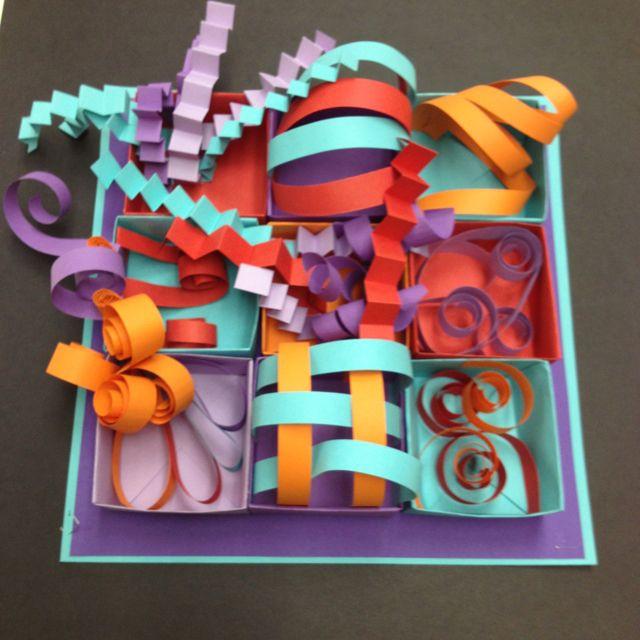 3D Art Projects For Kids  215 best 3D Art Lessons images on Pinterest