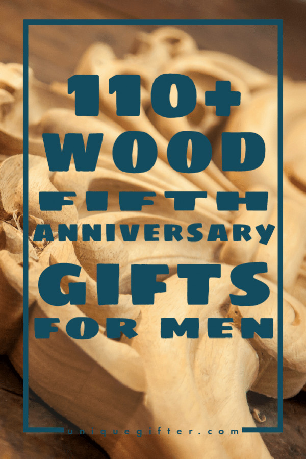 5 Year Anniversary Wood Gift Ideas  110 Wooden 5th Anniversary Gifts for Men Unique Gifter