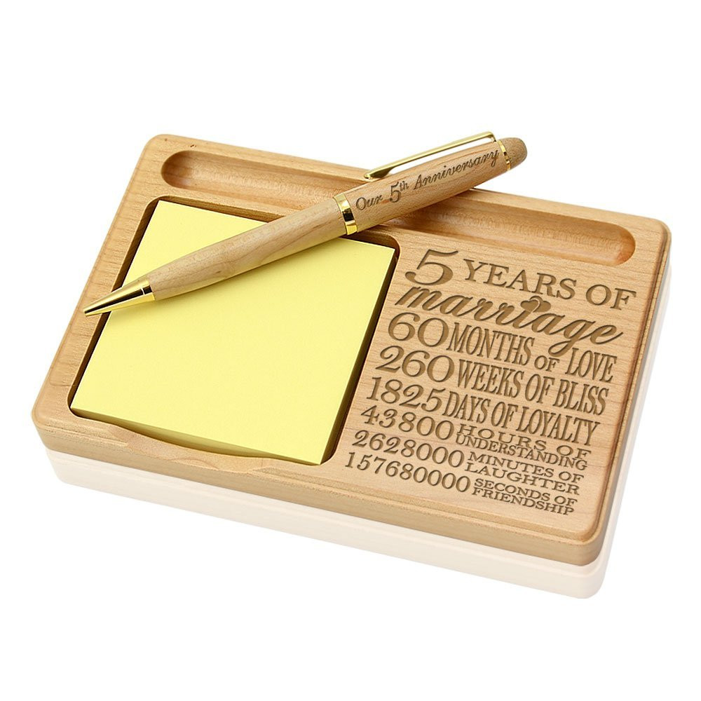 5 Year Anniversary Wood Gift Ideas  Best 6 ideas for 5 year anniversary t Unusual Gifts