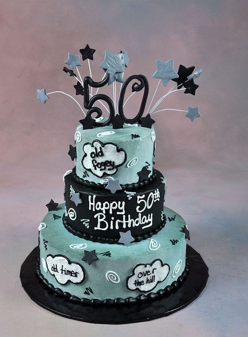 50th Birthday Cake Ideas For Him  34 Unique 50th Birthday Cake Ideas with My Happy