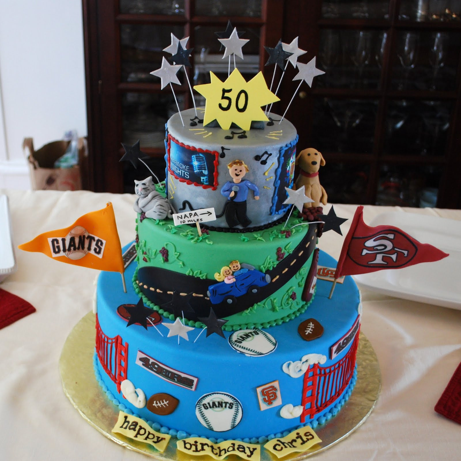 50th Birthday Cake Ideas For Him  The Beehive 50th Birthday Cake