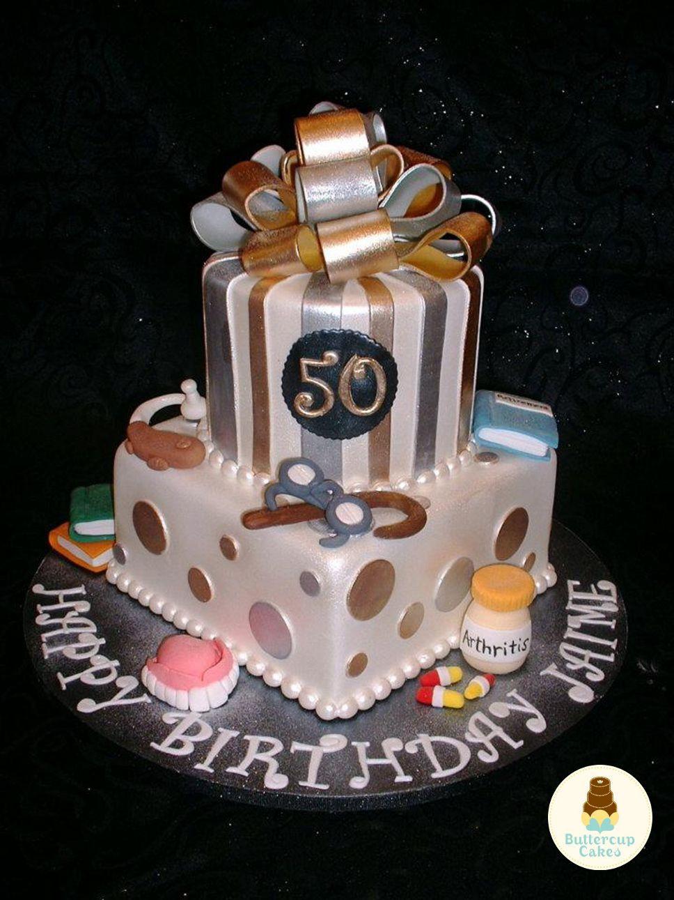 50th Birthday Cake Ideas For Him  50th Birthday Cake Birthday Cakes Pinterest