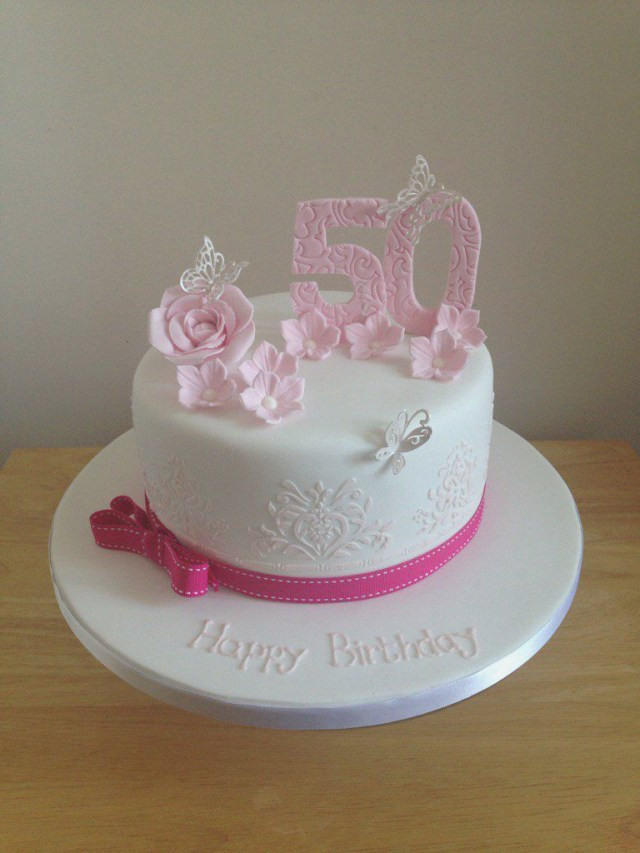 50th Birthday Cakes For Her  23 Great Image of 50Th Birthday Cakes For Her