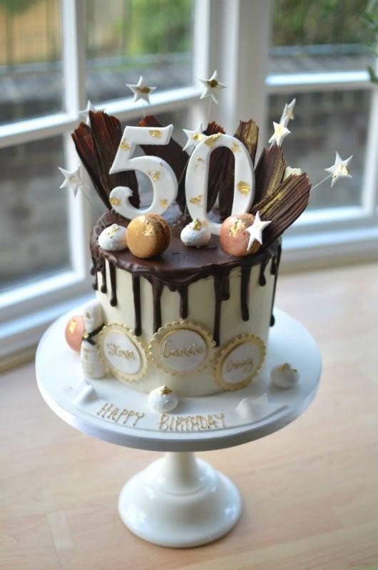 50th Birthday Cakes For Her  Birthday Cakes for Her Womens Birthday Cakes Coast Cakes