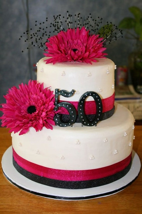 50th Birthday Cakes For Her  34 Unique 50th Birthday Cake Ideas with My Happy