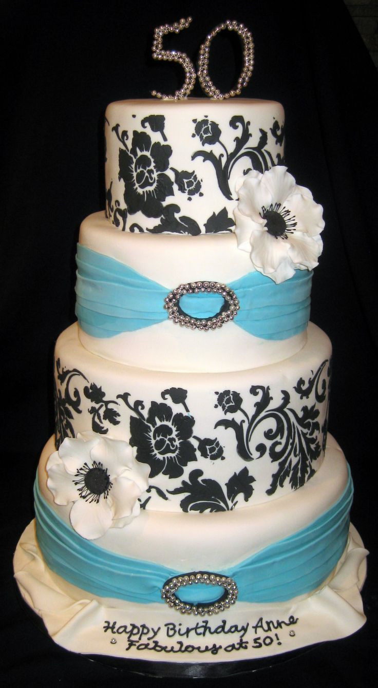 50th Birthday Cakes For Her  79 best Her 50th birthday images on Pinterest