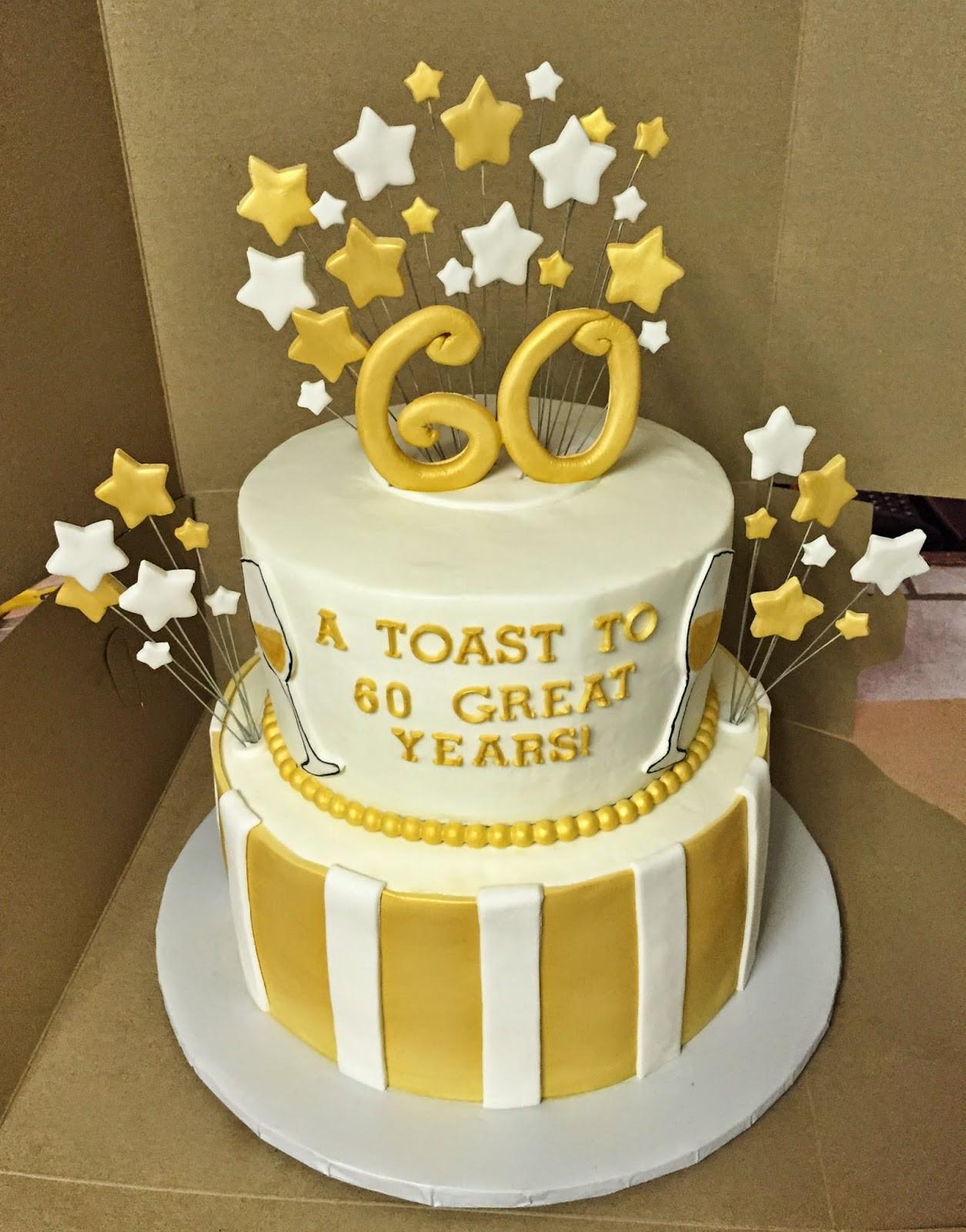 60th Birthday Cake Ideas  Sixty Birthday Cakes