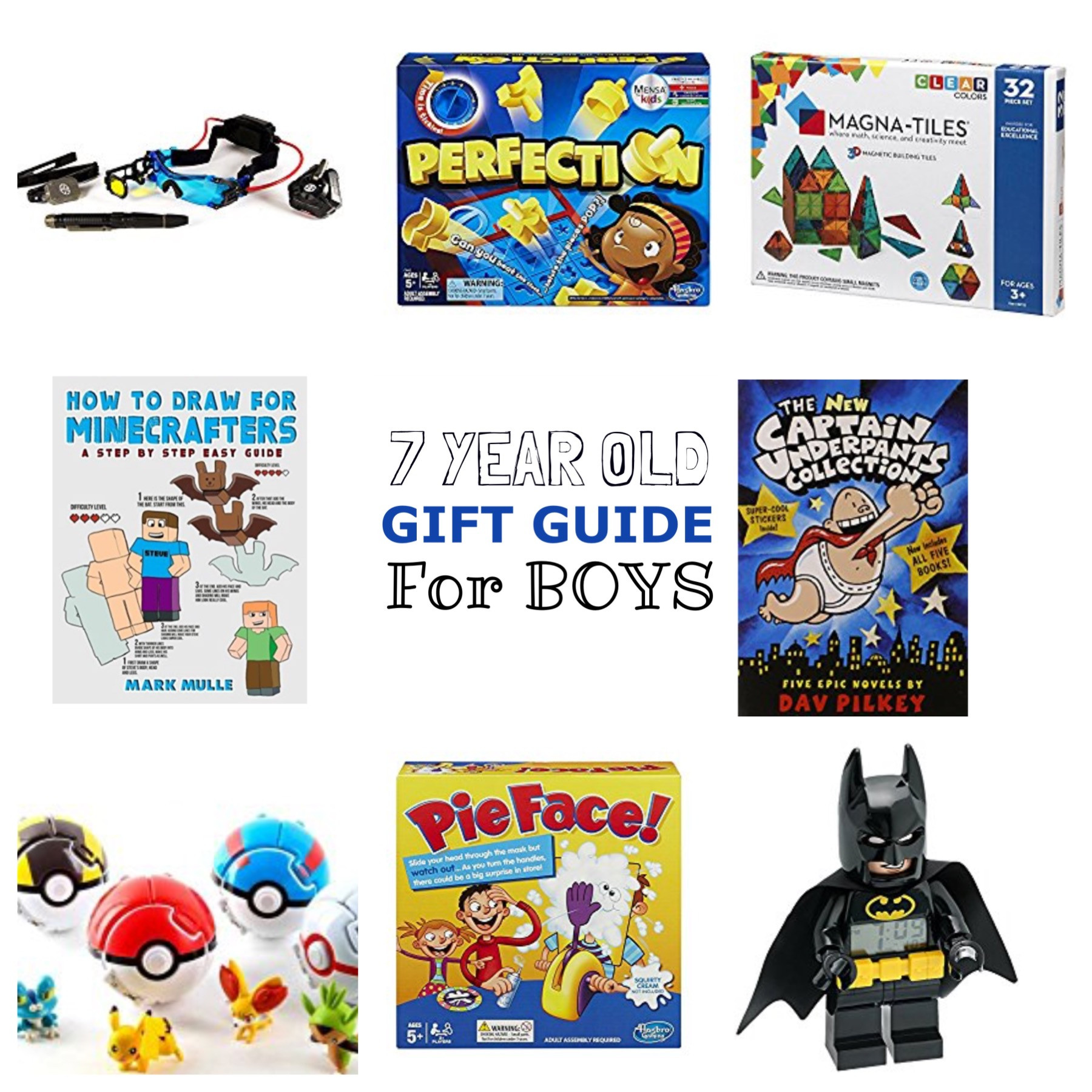 7 Year Old Boy Birthday Gift  7 Year Old Boy Gift Guide Lacey Placey