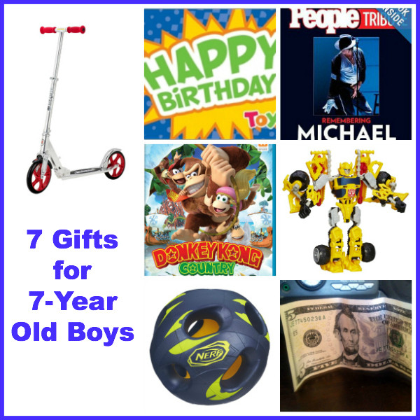 7 Year Old Boy Birthday Gift  7 Gift Ideas for 7 Year Old Boys