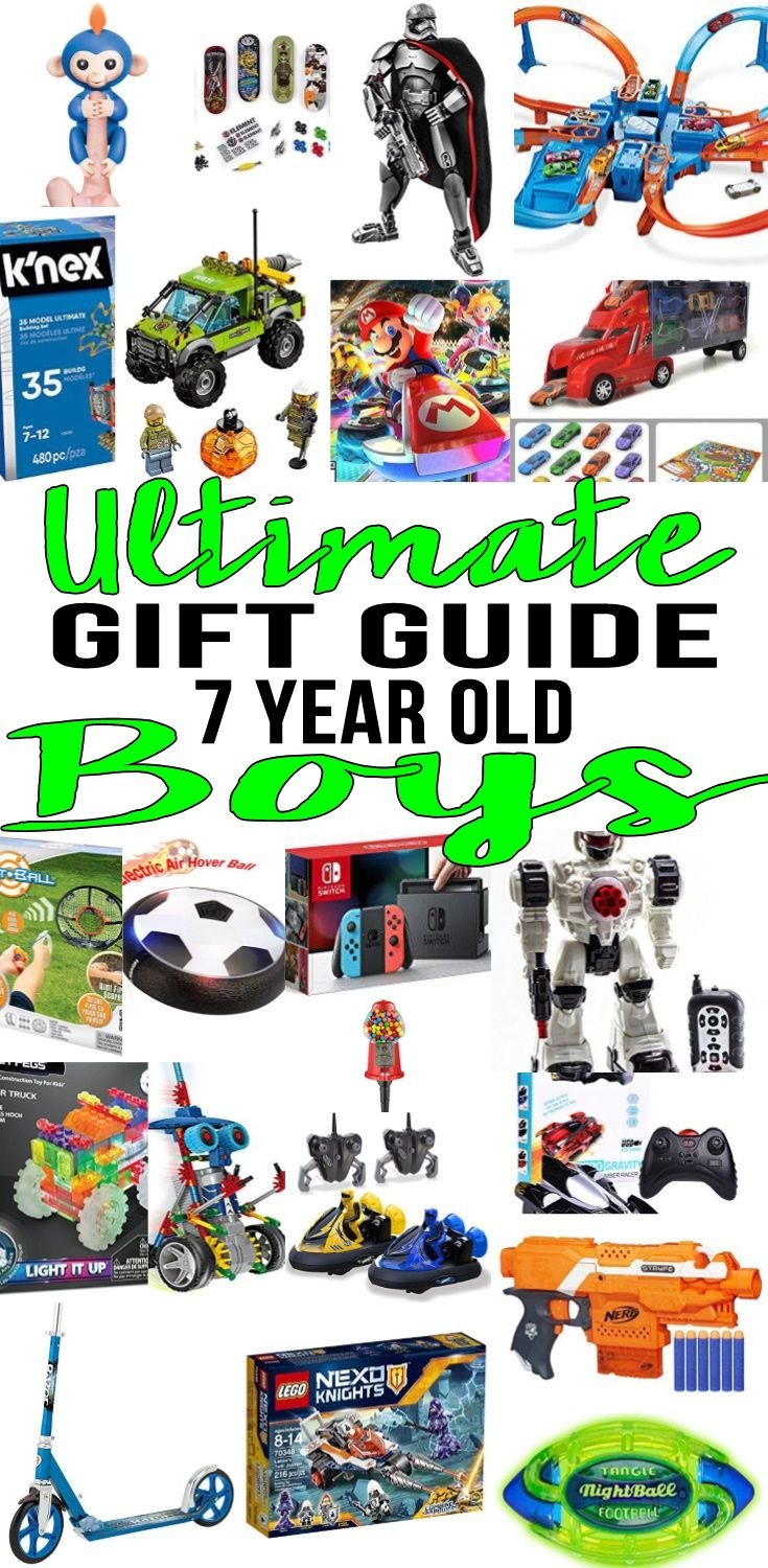 7 Year Old Boy Birthday Gift  Best Gifts for 7 Year Old Boys