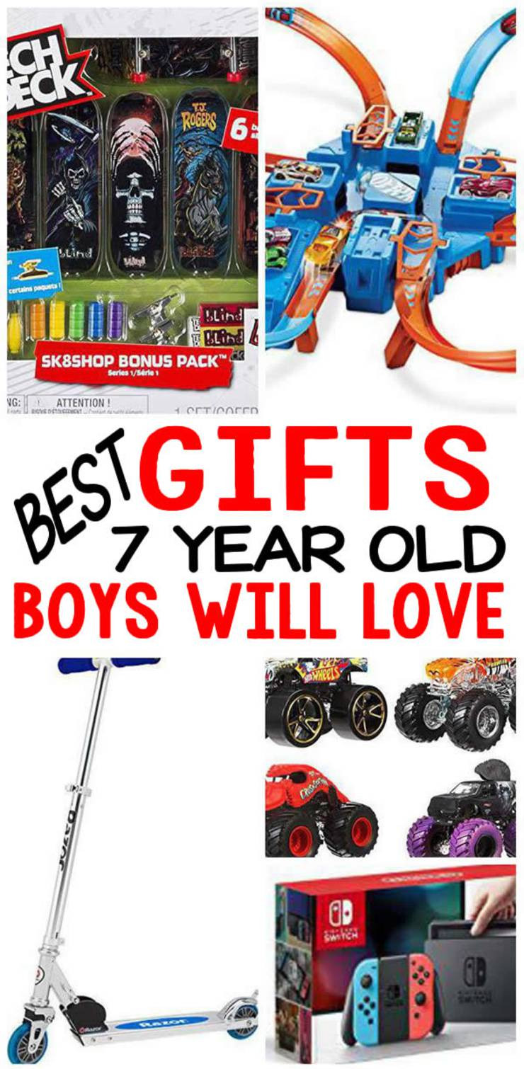7 Year Old Boy Birthday Gift  BEST Gifts 7 Year Old Boys Will Love