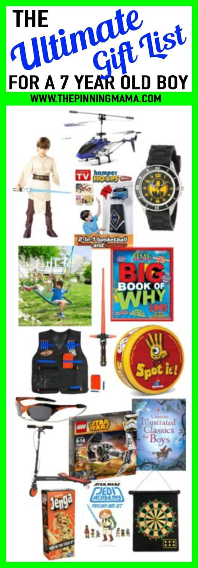 7 Year Old Boy Birthday Gift  BEST Gift Ideas for a 7 Year Old Boy • The Pinning Mama