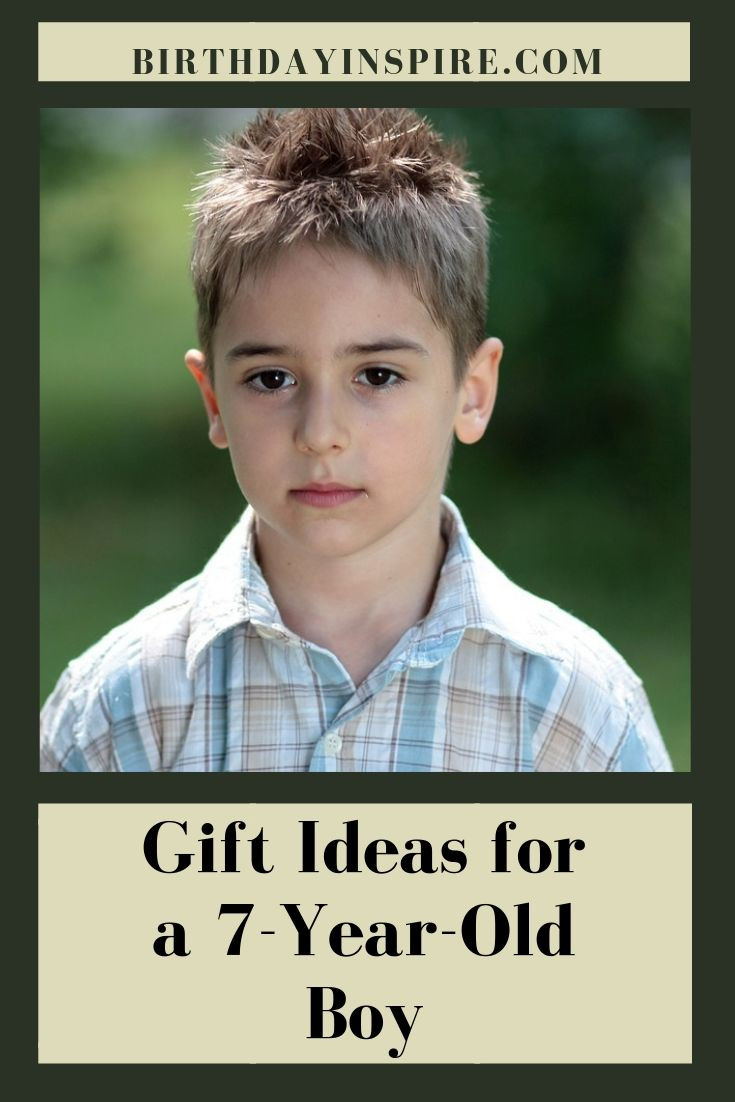 7 Year Old Boy Birthday Gift  Birthday Gift Ideas for a 7 Year Old BoyBirthday Inspire