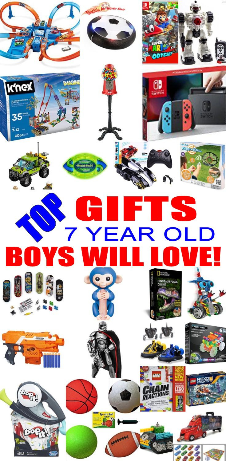 7 Year Old Boy Birthday Gift  25 unique Christmas ts for 7 year olds ideas on