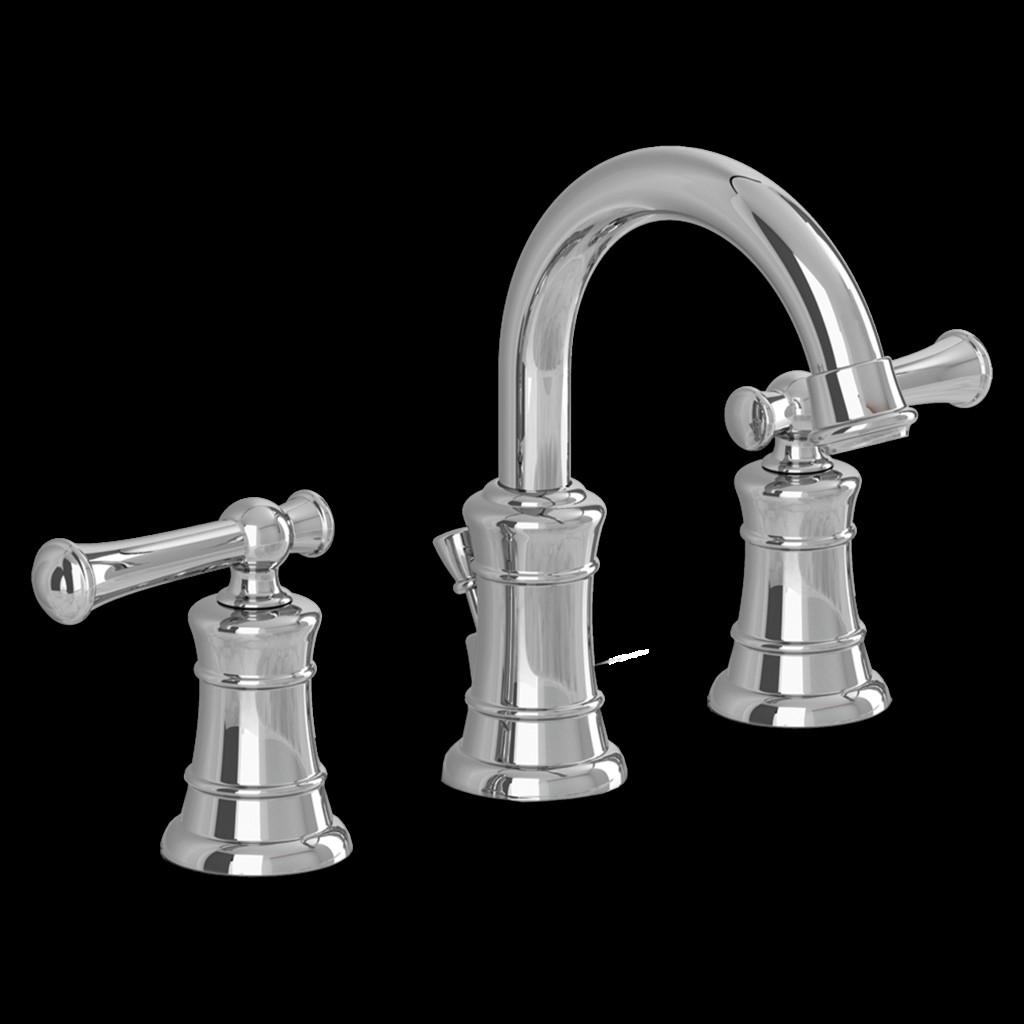8 Inch Bathroom Sink Faucets  Emory 2 Handle 8 Inch Widespread High Arc Bathroom Faucet