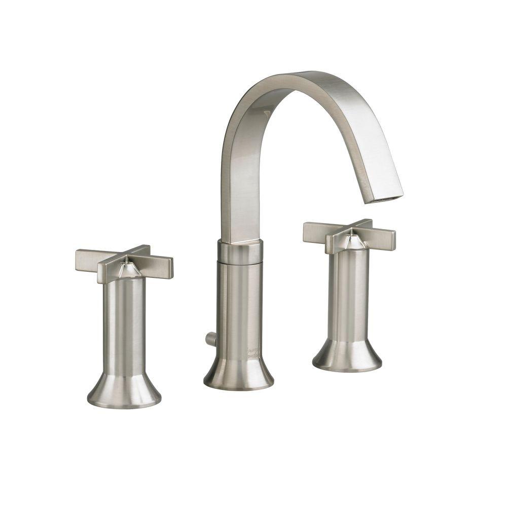 8 Inch Bathroom Sink Faucets  American Standard Berwick 8 inch Widespread 2 Handle