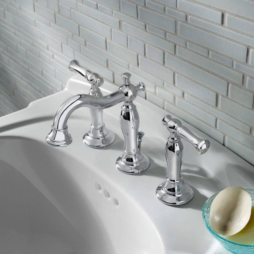 8 Inch Bathroom Sink Faucets  Quentin 2 Handle 8 Inch Widespread Bathroom Faucet
