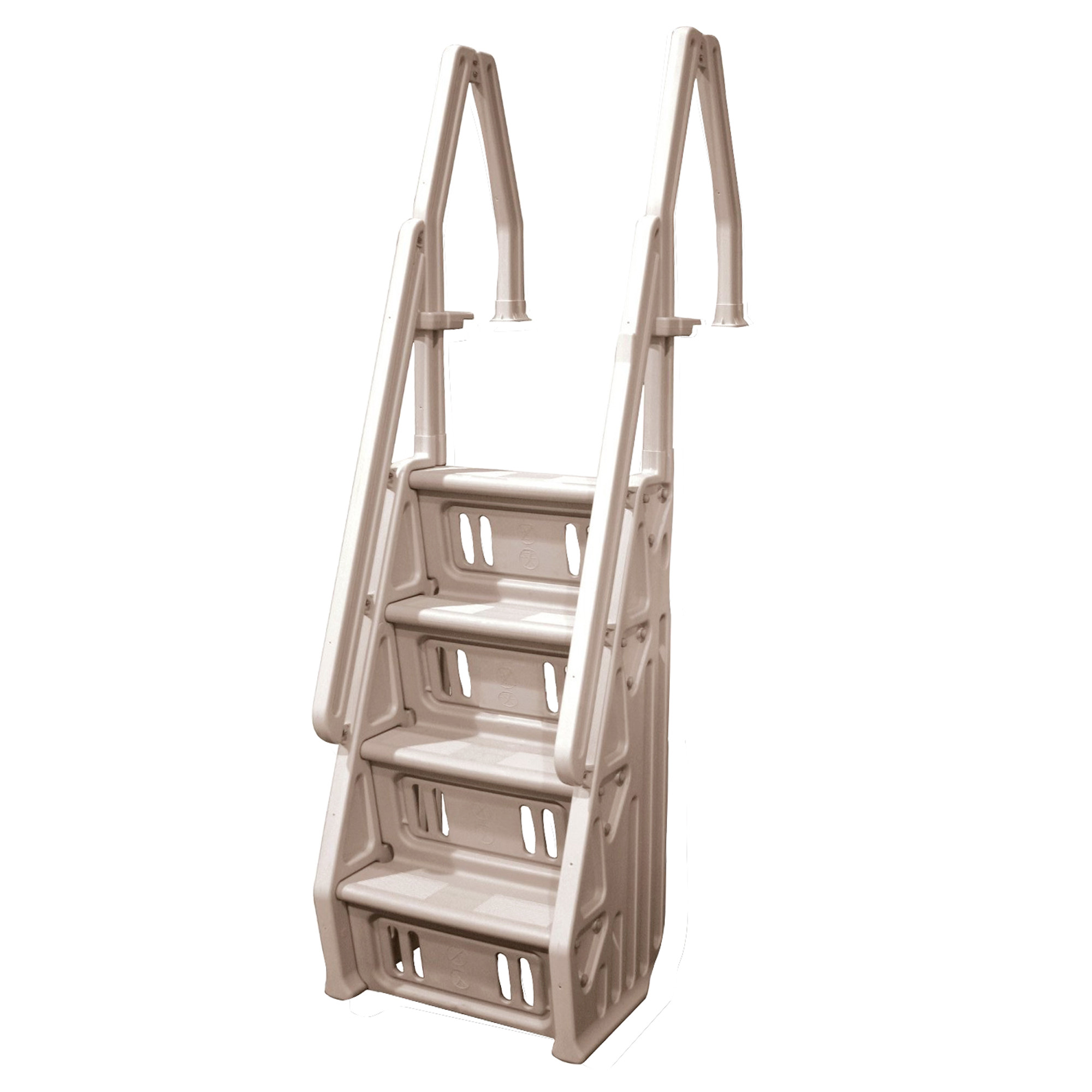 Above Ground Pool Stairs  Pool Ladders Browse Ground Pool Ladders And Steps