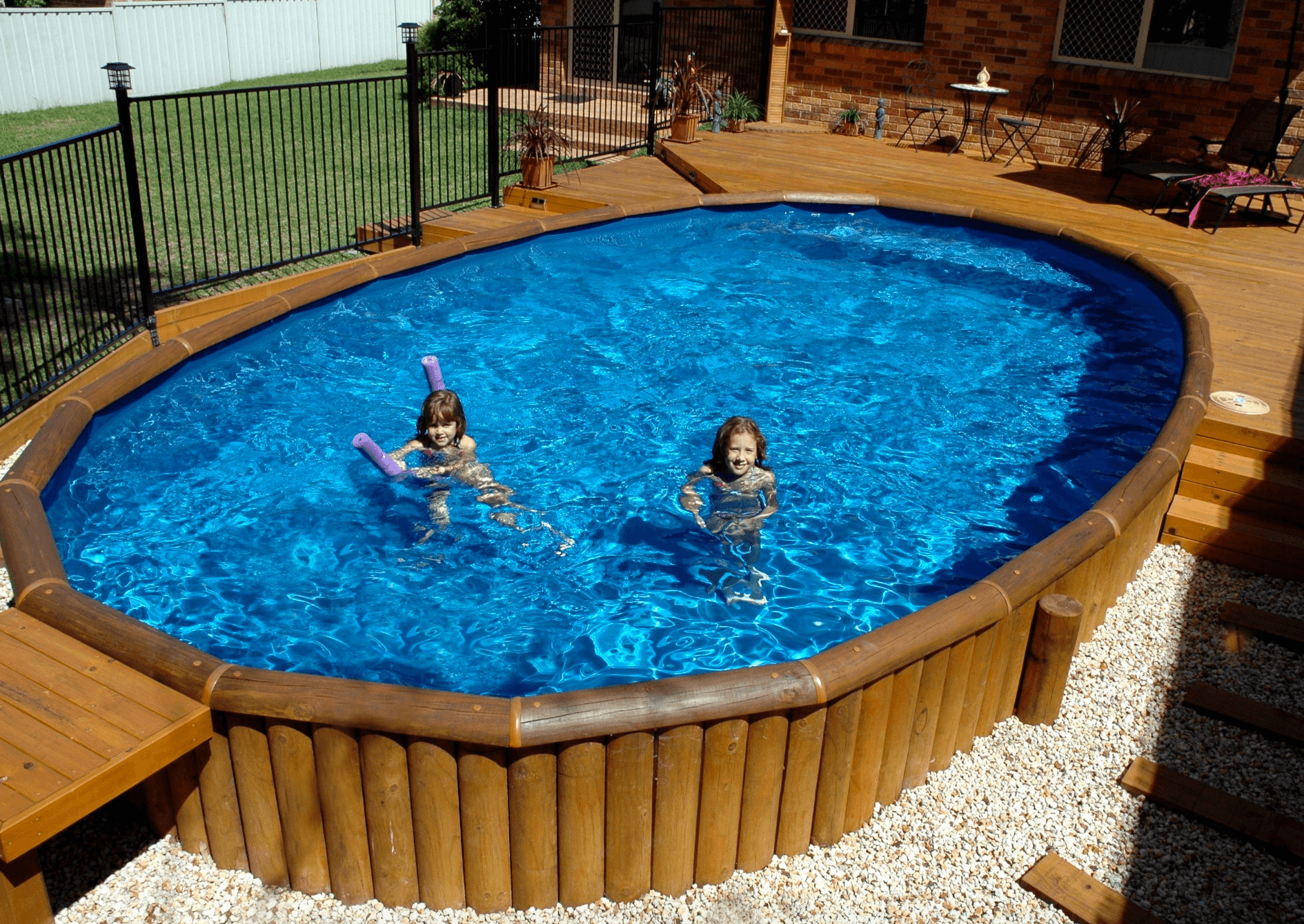 Above Ground Swimming Pool Cost  Everything About Ground Pools – Including