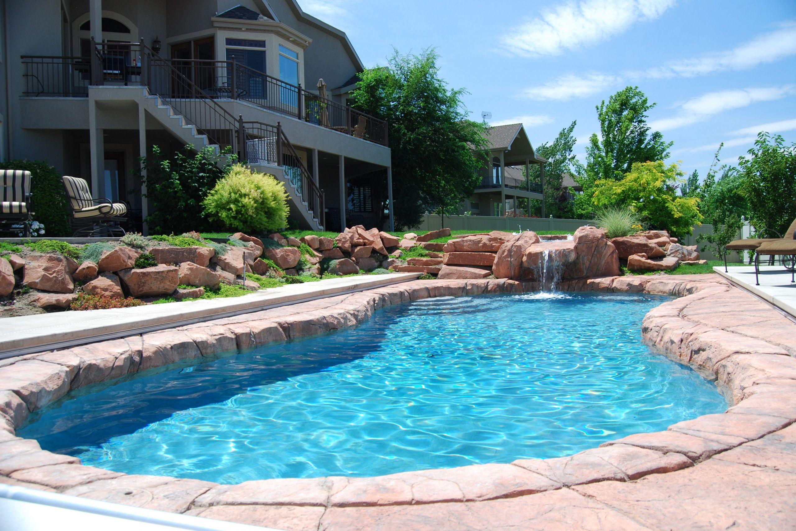 Above Ground Swimming Pool Cost  Gunite Pools Versus Ground Pools