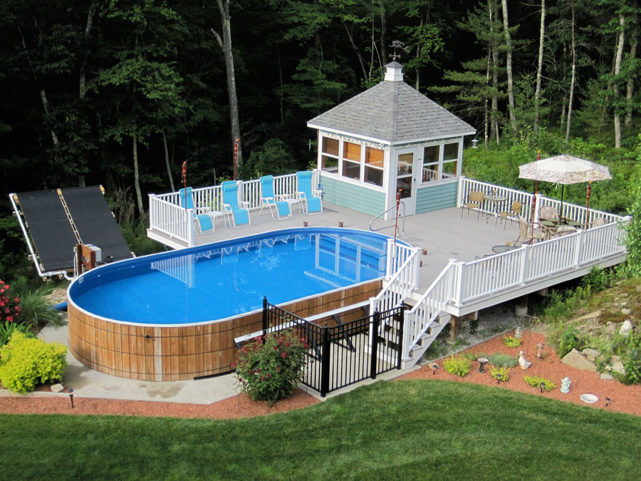 Above Ground Swimming Pool Cost  Hidden Water Pools Cost Everything About Hidden Pools