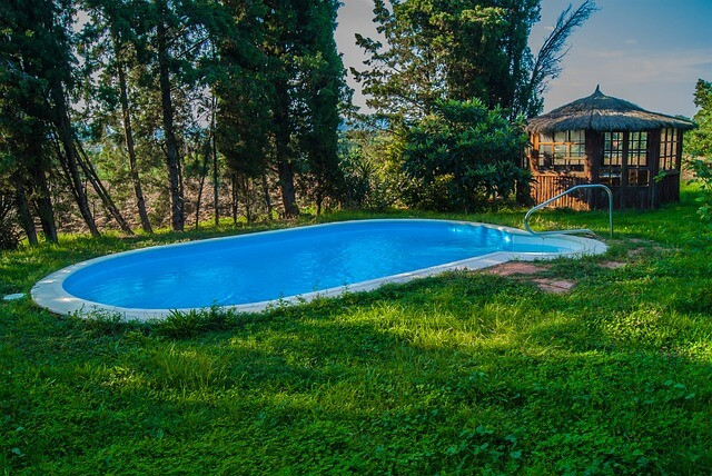 Above Ground Swimming Pool Cost  Semi Inground Pools Cost Average Prices And Installation