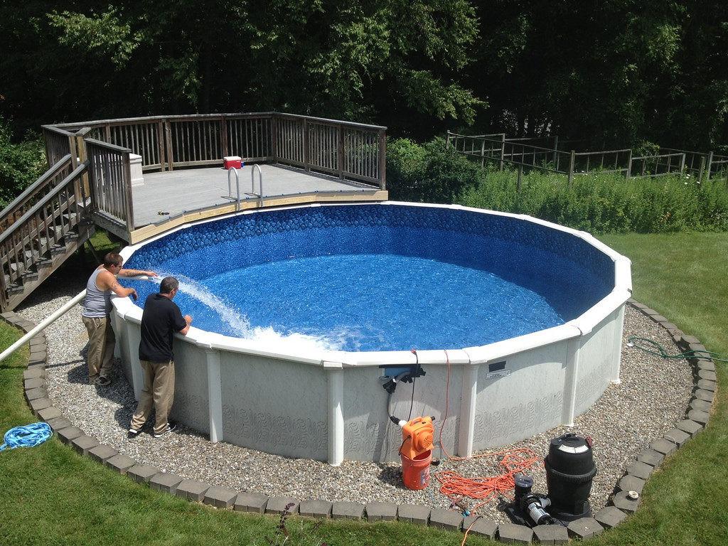 Above Ground Swimming Pool Cost  Inground vs Ground Pools