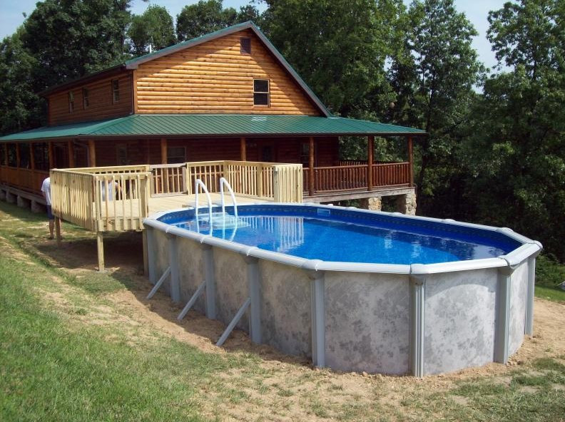 Above Ground Swimming Pool Cost  Ground Pool Installation Cost and How to Install