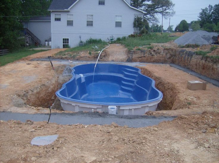 Above Ground Swimming Pool Cost  The 25 best Small inground pool cost ideas on Pinterest