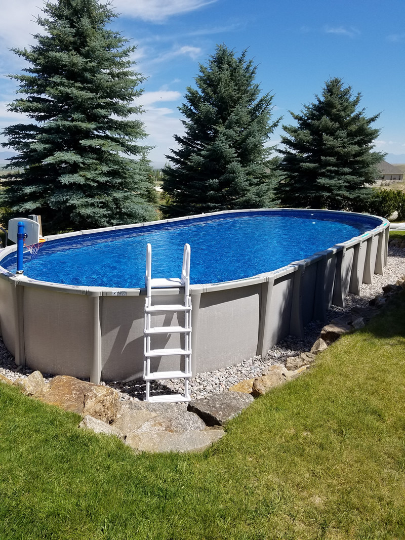 Above Ground Swimming Pool Cost  How Much Does a Pool Cost 93 Real World Examples