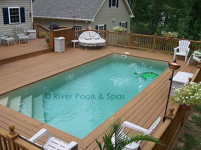 Above Ground Swimming Pool Cost  Ground Fiberglass Pools Can and Should They Be Built