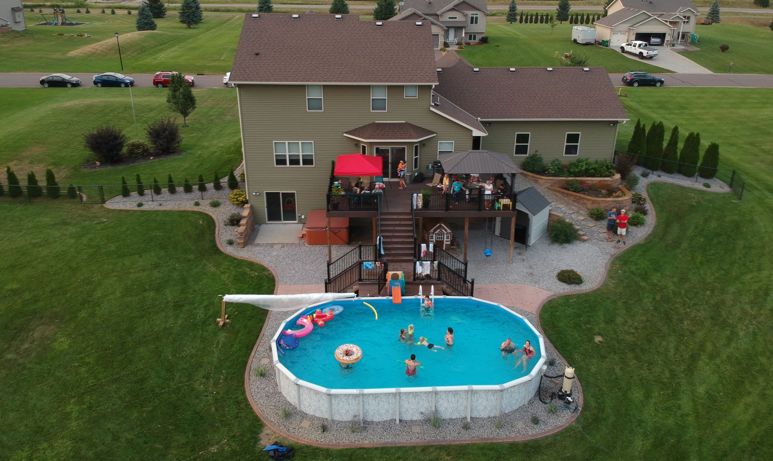 Above Ground Swimming Pool Cost  How Much Does An Ground Pool Cost to Build