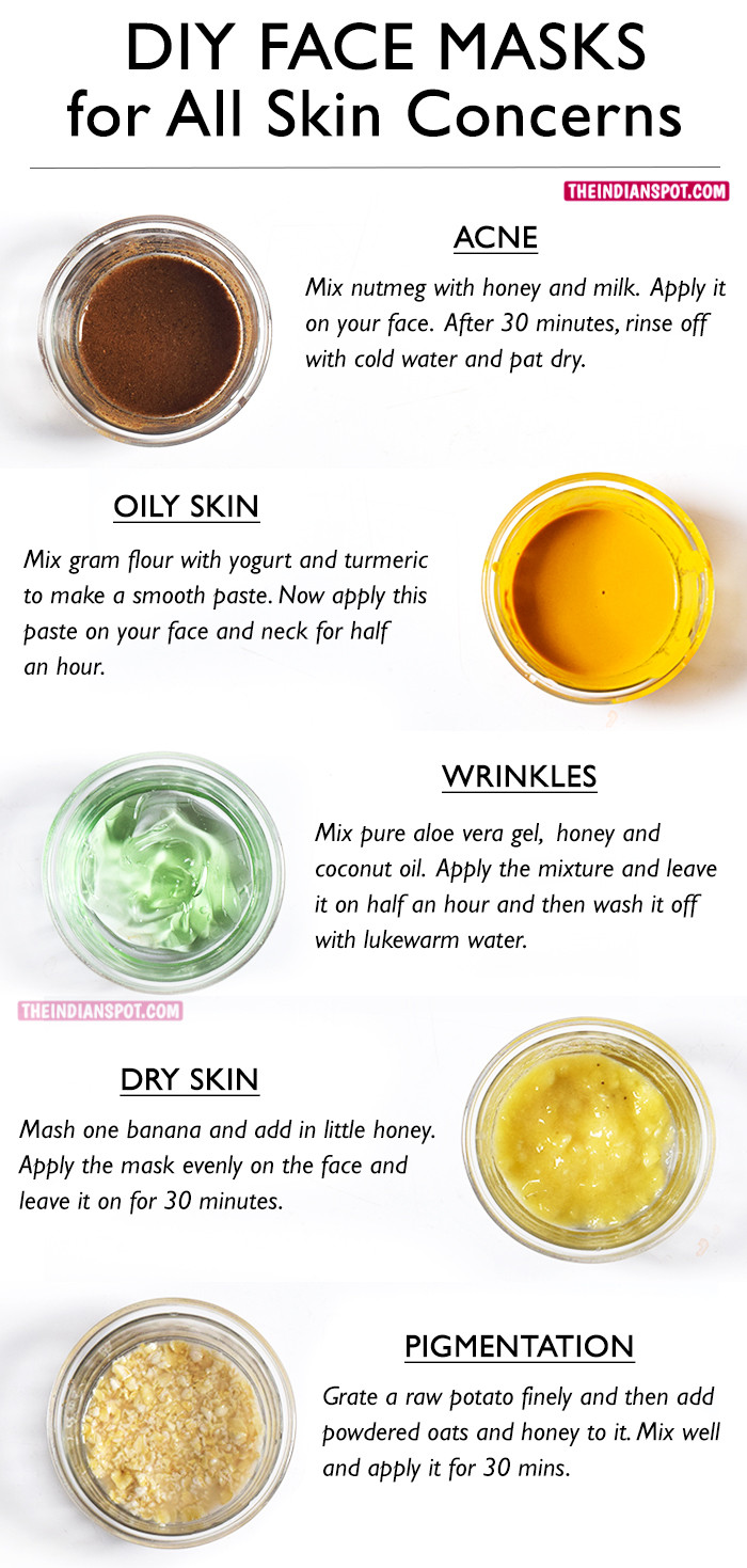 Acne Masks DIY  BEST DIY FACE MASKS FOR YOUR BIGGEST SKIN PROBLEMS