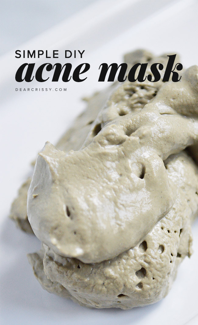 Acne Masks DIY  Refresh Your Face With These 20 DIY Face Masks
