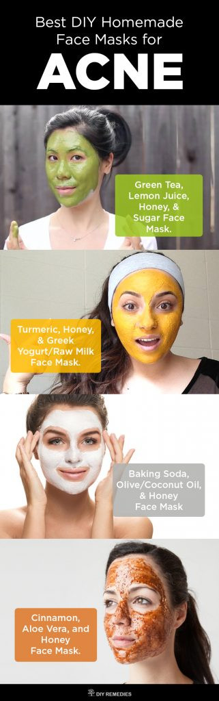 Acne Masks DIY  6 Best DIY Homemade Face Masks for Acne