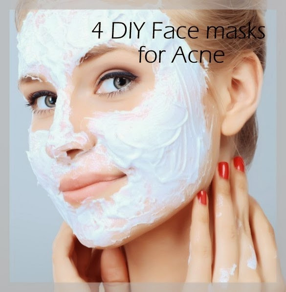 Acne Masks DIY  DIY Homemade mask for Acne Vulgaris Home reme s for