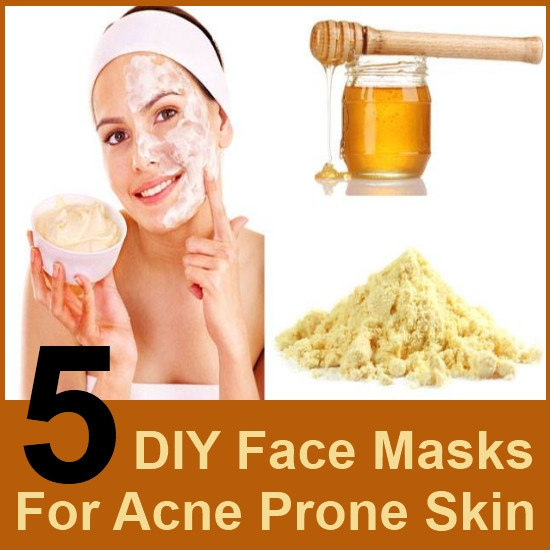Acne Masks DIY  5 DIY Face Masks For Acne Prone Skin