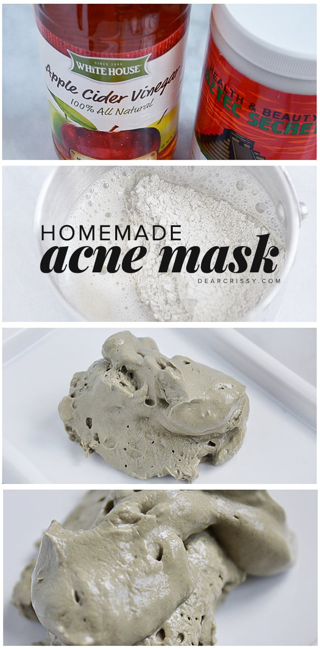 Acne Masks DIY  DIY Acne Mask Recipe Unclogs pores and clears your skin