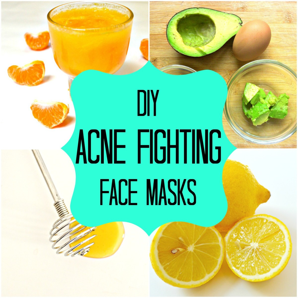 Acne Masks DIY  DIY Homemade Face Masks for Acne How to Stop Pimples