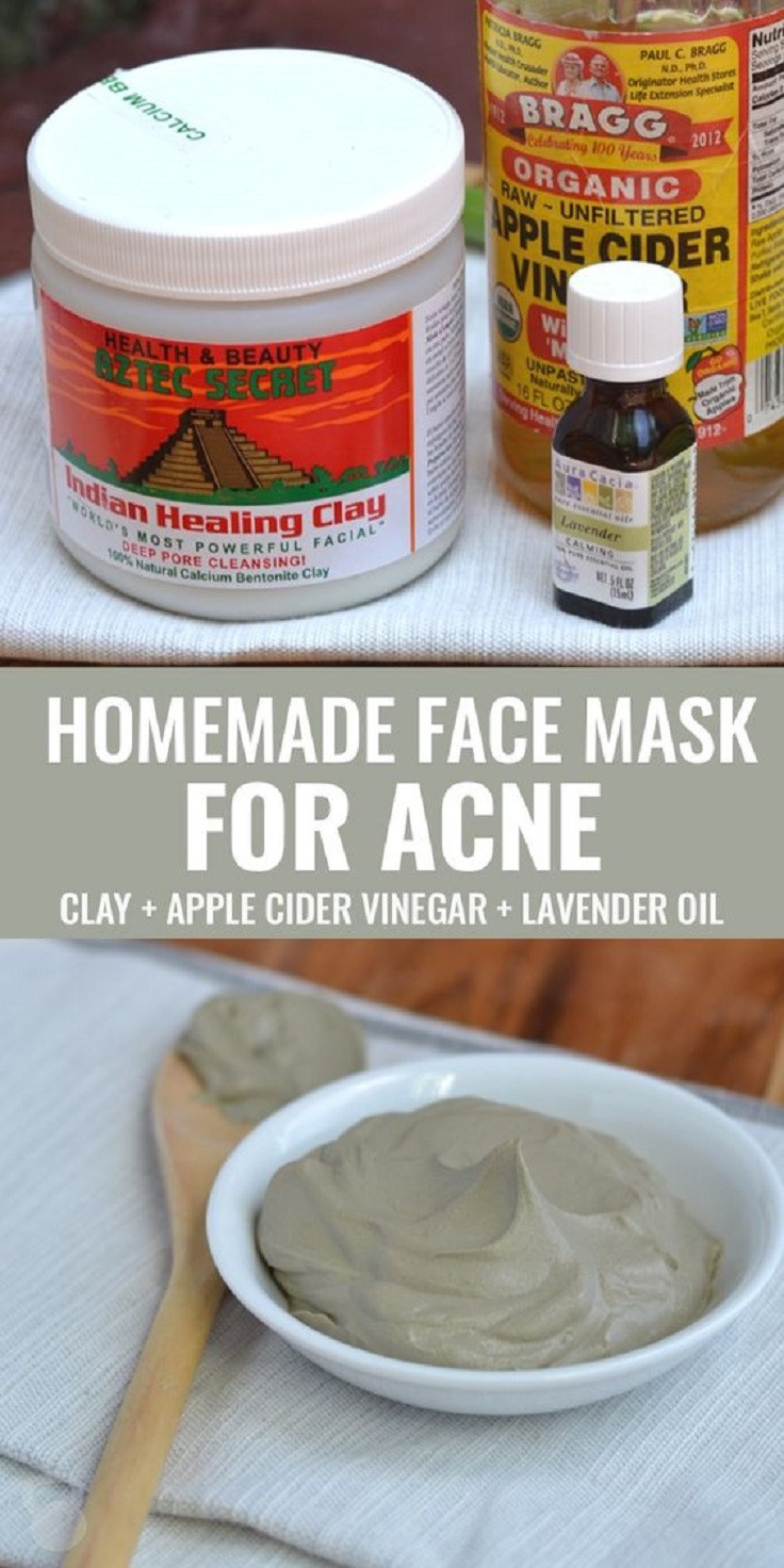 Acne Masks DIY  12 DIY Face Mask Suggestions that Actually Do What They