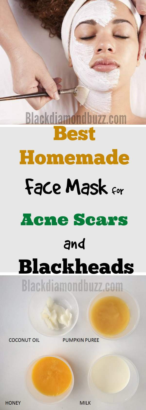 Acne Masks DIY  DIY Face Mask for Acne 7 Best Homemade Face Masks
