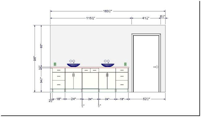 Ada Bathroom Mirror Height  Ada bathroom countertop height cover